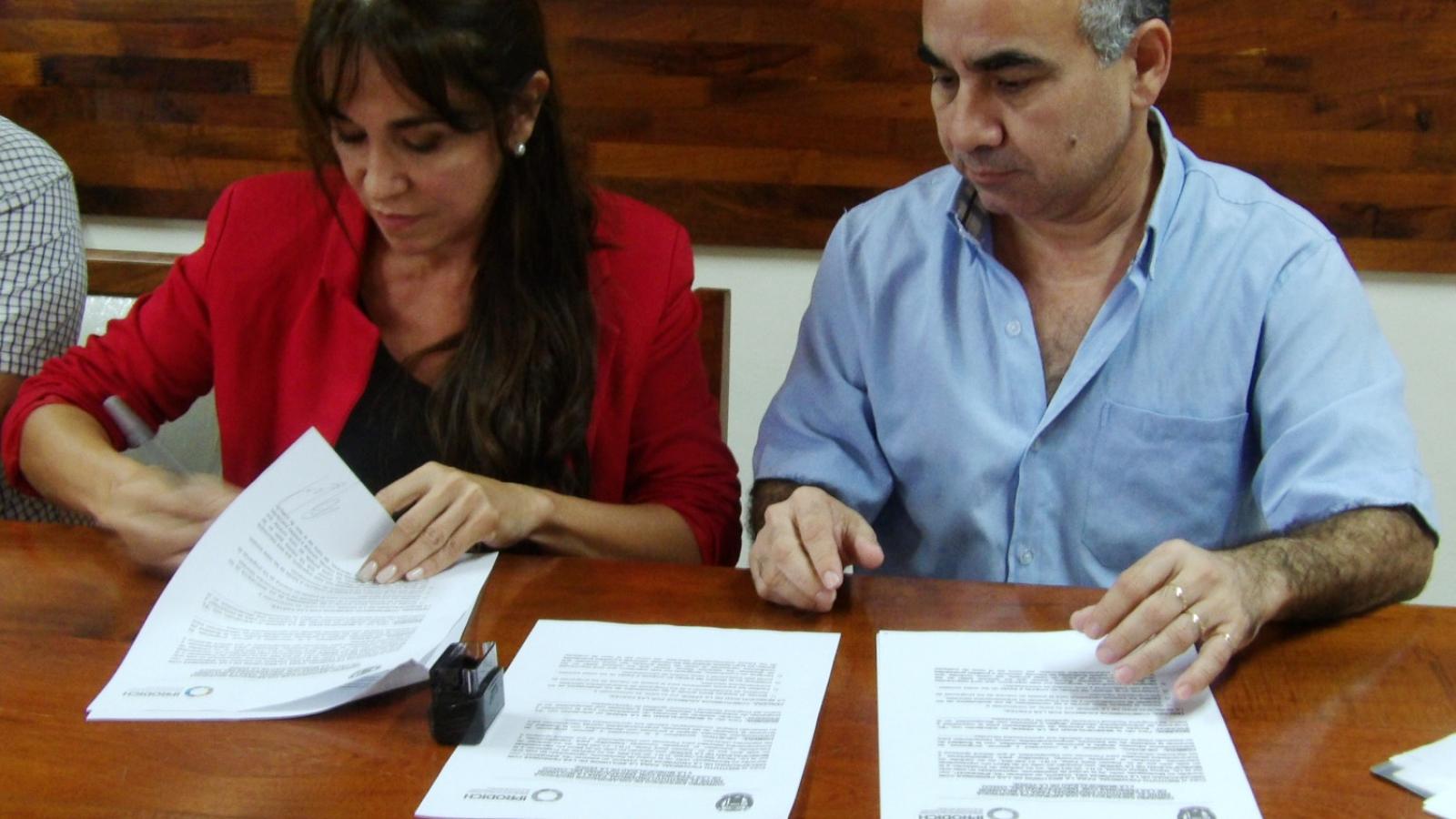 IPRODICH y el Municipio de La Verde impulsan entrenamientos laborales de personas con discapacidad