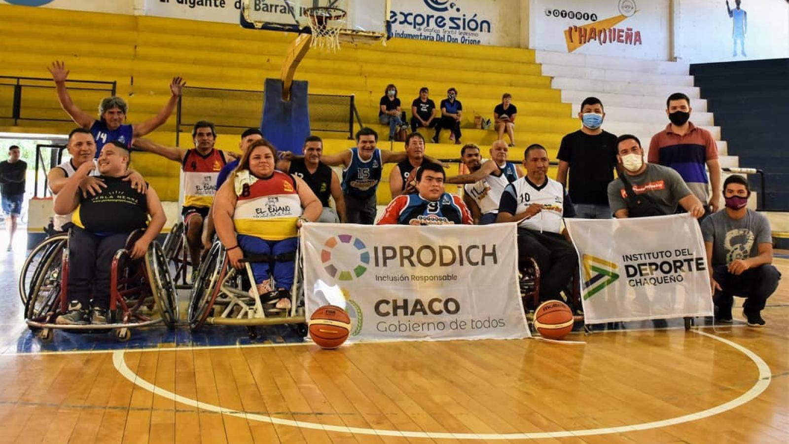 IPRODICH e IDCH siguen impulsando el deporte adaptado en el Chaco