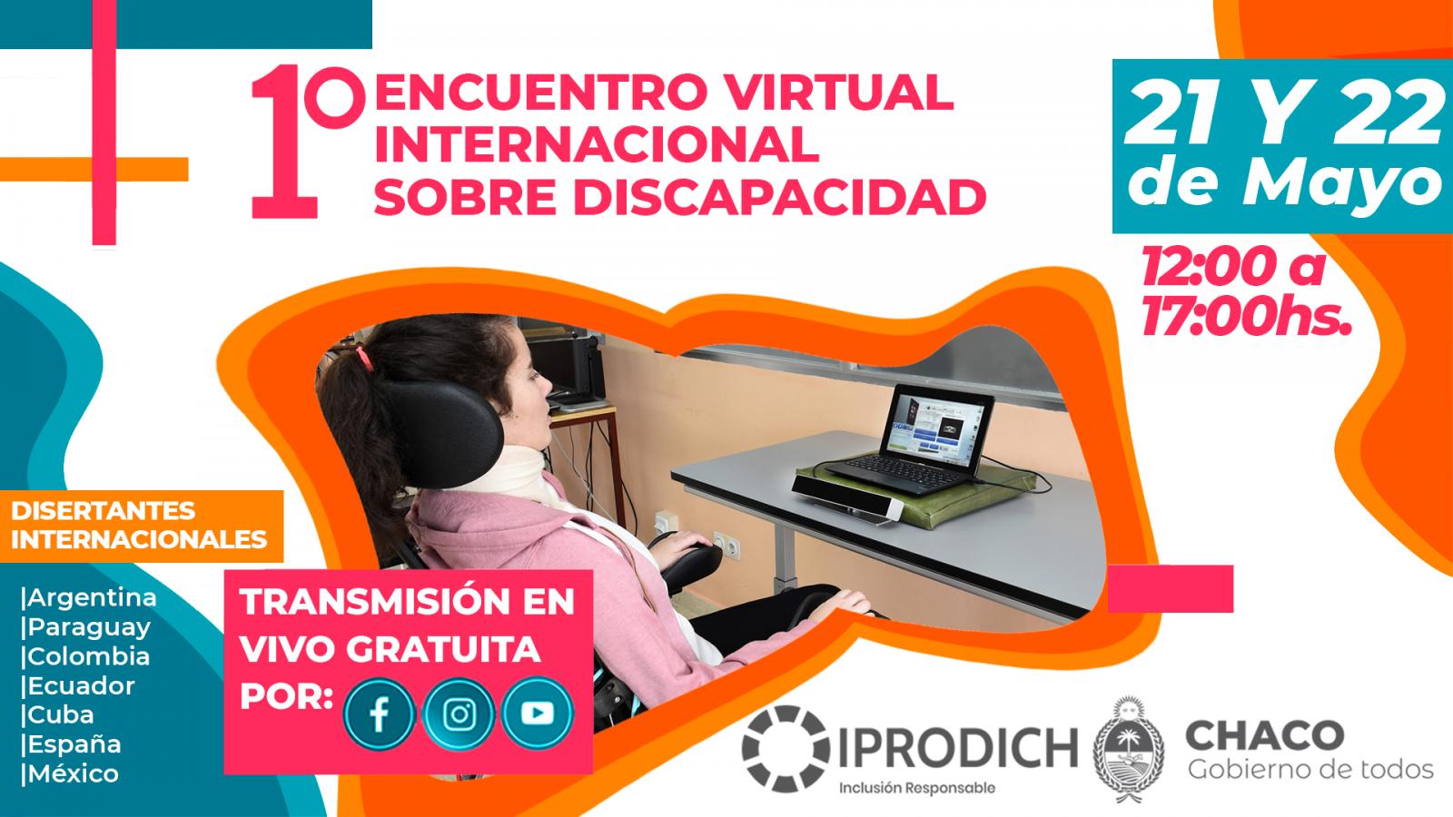 1° Encuentro Virtual Internacional sobre Discapacidad