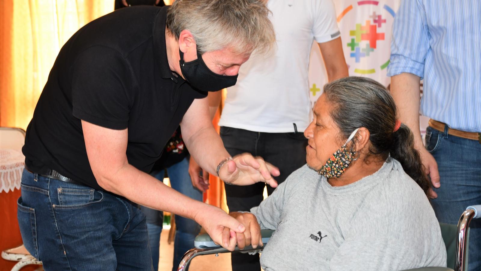 IPRODICH mejoró la calidad de vida de personas con discapacidad de Machagai, Quitilipi, Resistencia y Colonia Benítez