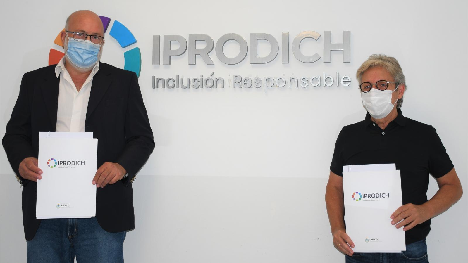 IPRODICH y Economía Popular brindarán asistencia a emprendedores con discapacidad