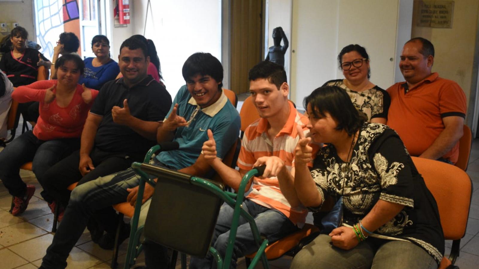 Personas con Discapacidad en Entrenamiento Laboral en Puerto Tirol