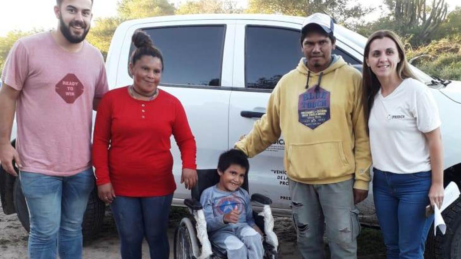 IPRODICH mejoró la calidad de vida de personas con discapacidad del interior chaqueño