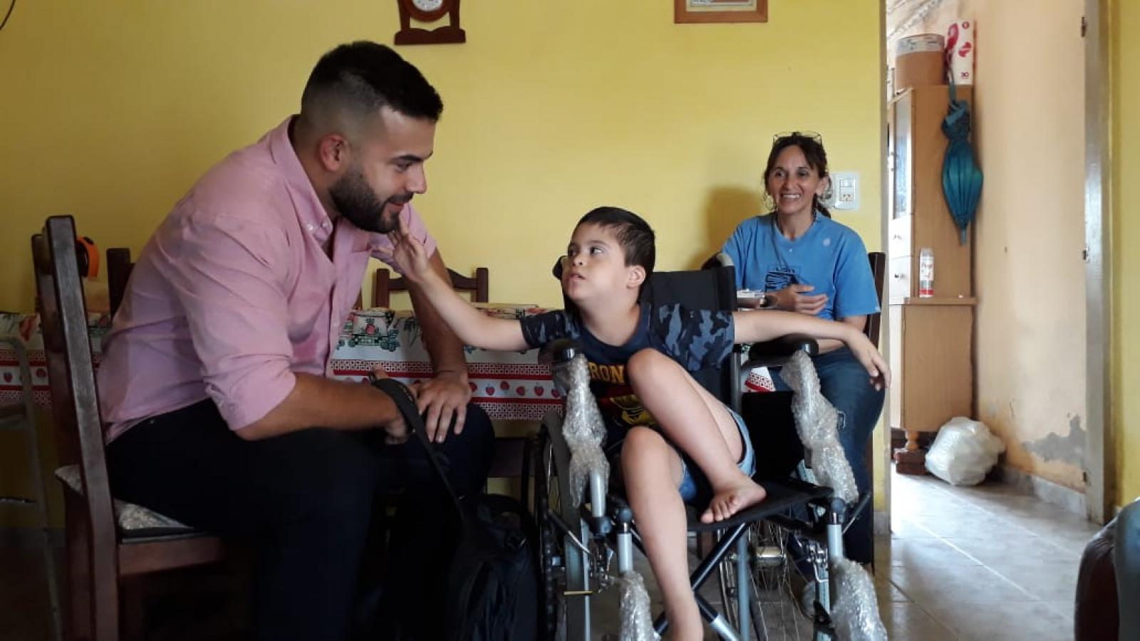 IPRODICH mejoró la calidad de vida de personas con discapacidad de Machagai, Pinedo y Charata