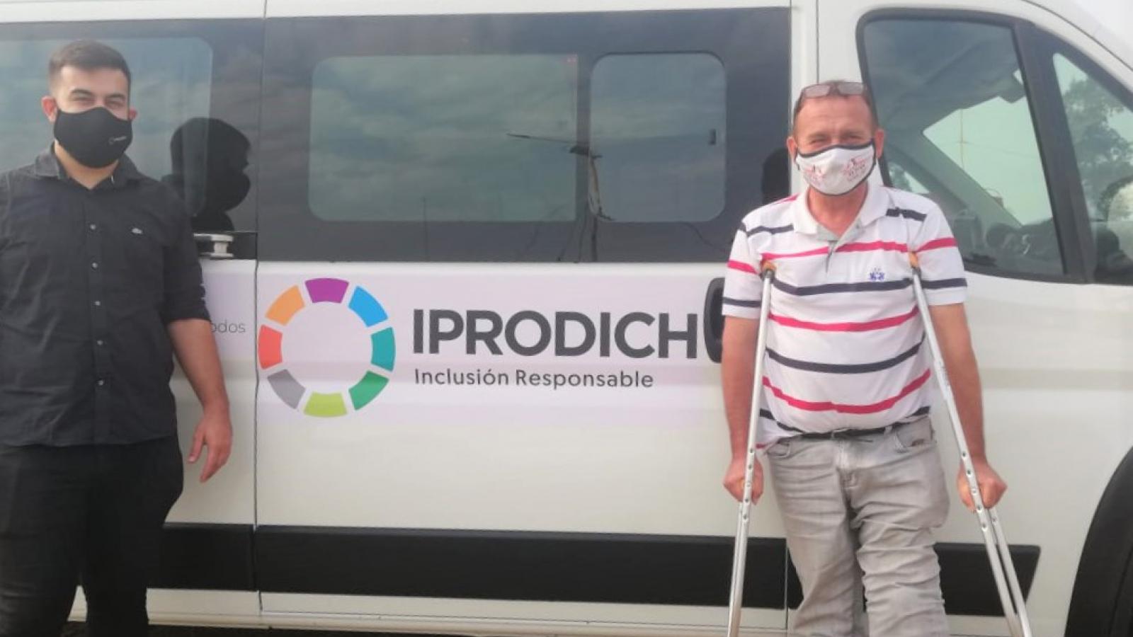 IPRODICH está presente con las personas con discapacidad del interior chaqueño