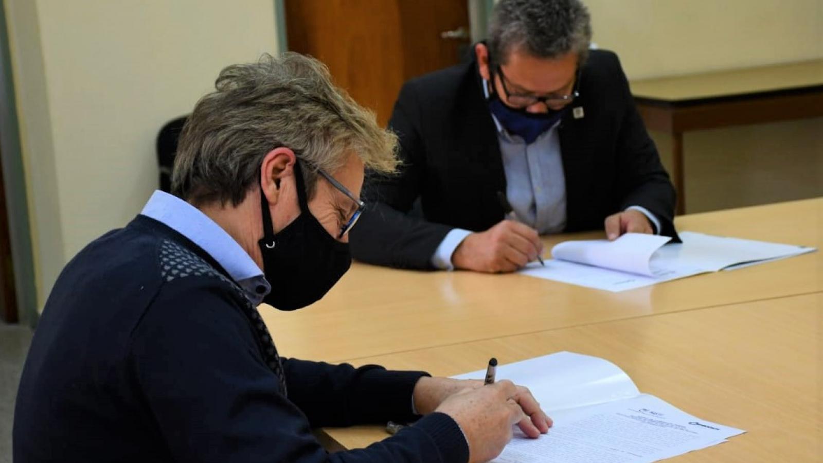 IPRODICH y la UNNE coordinarán capacitaciones, talleres, investigaciones y pasantías inclusivas